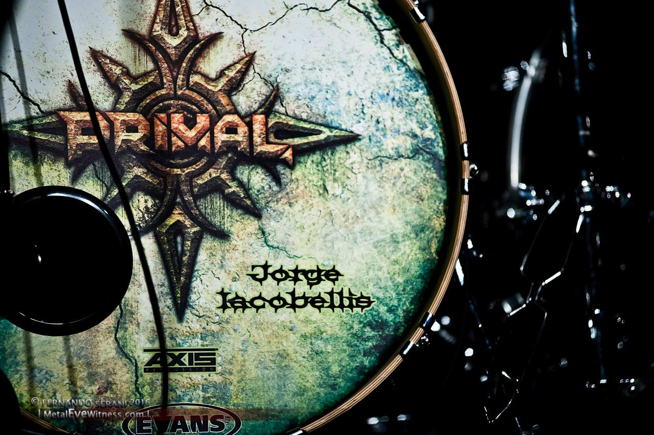Primal Stage: Drum Graphics